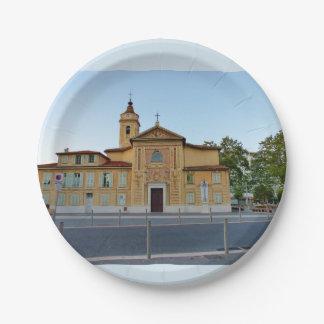 Assiettes En Papier Eglise Saint Roch