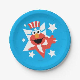 Assiettes En Papier Elmo comme Oncle Sam