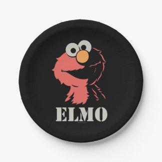 Assiettes En Papier Elmo demi