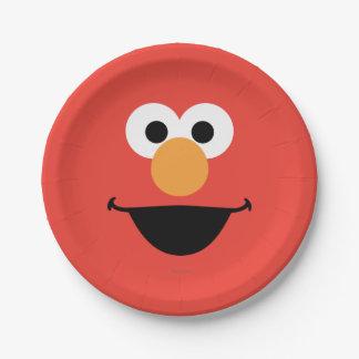 Assiettes En Papier Elmo font face à l'art