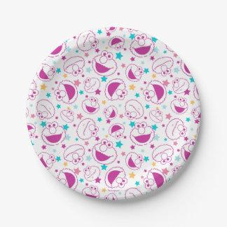 Assiettes En Papier Elmo profil sous convention astérisque doux et