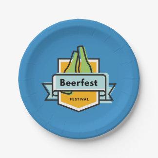 Assiettes En Papier Festival d'Oktoberfest Beerfest