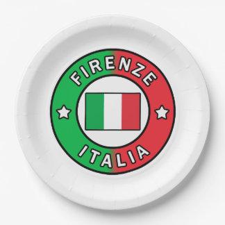 Assiettes En Papier Firenze Italie