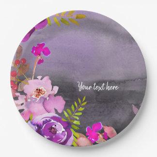 Assiettes En Papier Fleurit le bouquet pour toutes les occasions