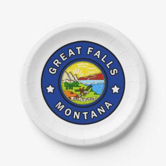 Assiettes En Papier Great Falls Montana