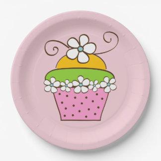 Assiettes En Papier Illustration de Cucake