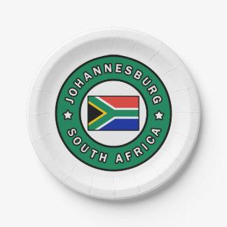 Assiettes En Papier Johannesburg Afrique du Sud
