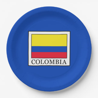 Assiettes En Papier La Colombie