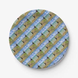 Assiettes En Papier La falaise de Pourville de Claude Monet