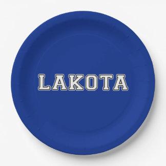 Assiettes En Papier Lakota