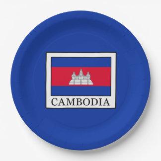 Assiettes En Papier Le Cambodge
