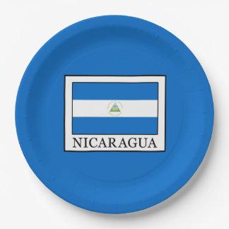 Assiettes En Papier Le Nicaragua