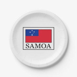 Assiettes En Papier Le Samoa