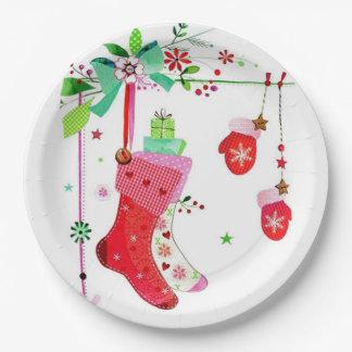 Assiettes En Papier Maison pour les plaques à papier de Noël de