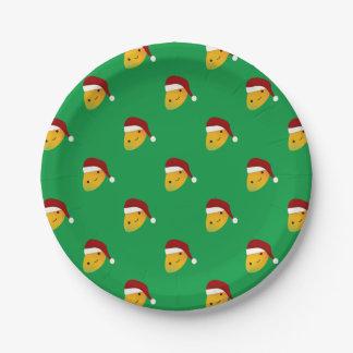 Assiettes En Papier Mangue de Noël