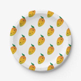Assiettes En Papier Mangue mignonne de Kawaii