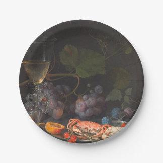 Assiettes En Papier Mignon d'Abraham - la vie toujours avec des crabes