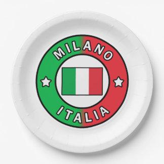 Assiettes En Papier Milan Italie