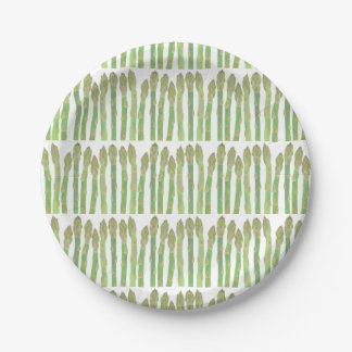 Assiettes En Papier Mini salade d'asperge