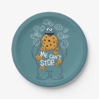 Assiettes En Papier Monstre de biscuit du Sesame Street | - je ne peut
