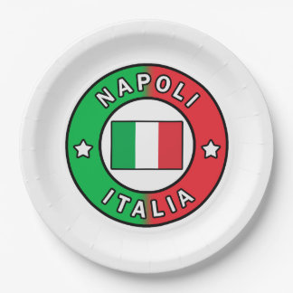 Assiettes En Papier Napoli Italie