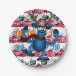 Assiettes En Papier Noël de plaques à papier