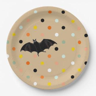 Assiettes En Papier Partie de Halloween