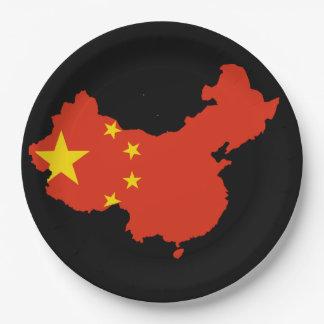 Assiettes En Papier Pays chinois