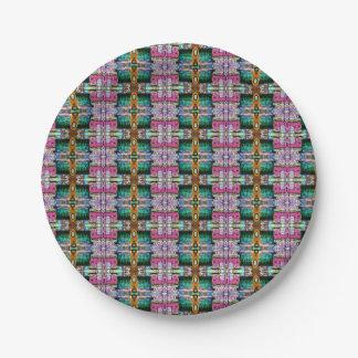 Assiettes En Papier Plaque à papier colorée