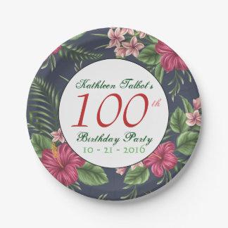 Assiettes En Papier Plaque à papier de fête d'anniversaire de ketmie