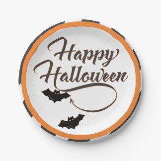 Assiettes En Papier Plaque à papier de Halloween