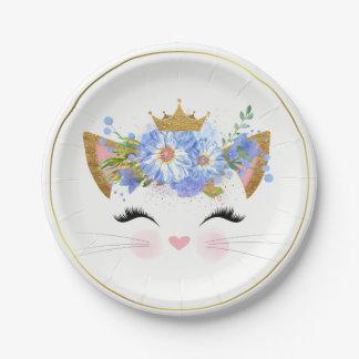 Assiettes En Papier Plaque à papier de princesse Kitty