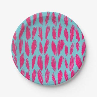 Assiettes En Papier Plaques à papier de Knit