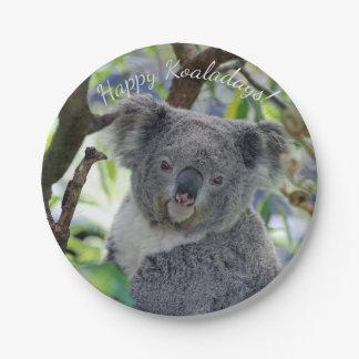 Assiettes En Papier Plaques à papier de Koaladays de Noël mignon