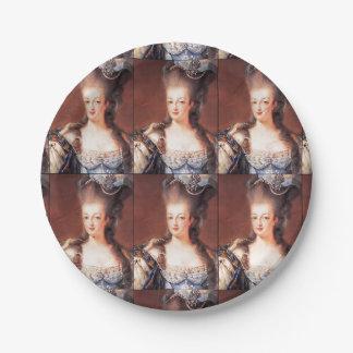 Assiettes En Papier Plaques à papier de Marie Antoinette de Français