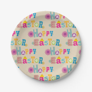 Assiettes En Papier Plaques à papier de Pâques