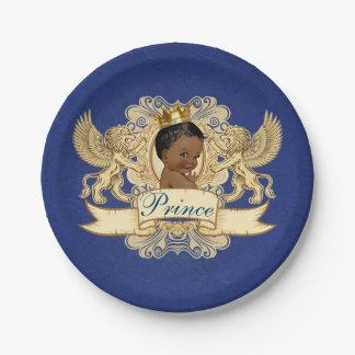 Assiettes En Papier Plats africains royaux de baby shower de prince