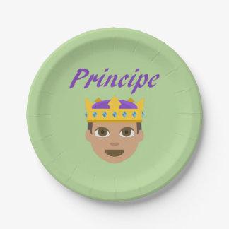 Assiettes En Papier Principe (prince)