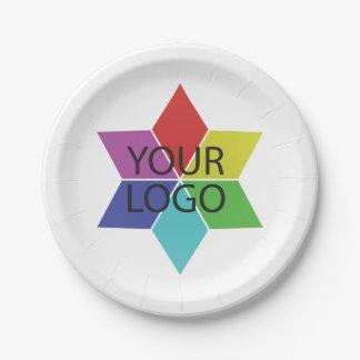 Assiettes En Papier Promotion de Logo Symbol Business Company