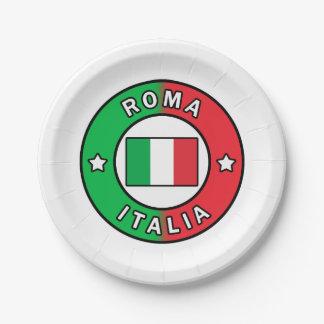 Assiettes En Papier Roma Italie