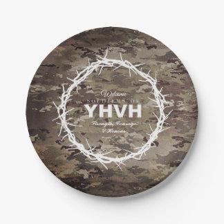 Assiettes En Papier SOLDATS de chrétien de YHVH