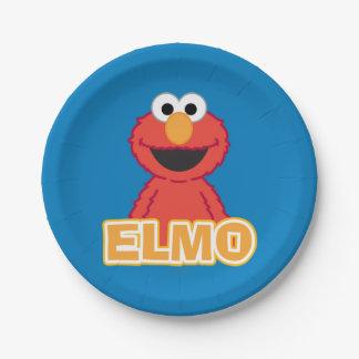 Assiettes En Papier Style de classique d'Elmo