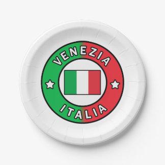 Assiettes En Papier Venezia Italie