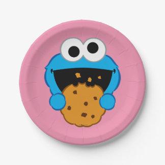 Assiettes En Papier Visage de biscuit