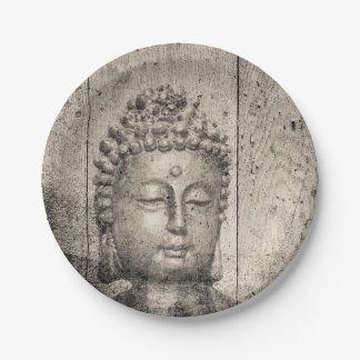 Assiettes En Papier Yoga vintage de Bouddha