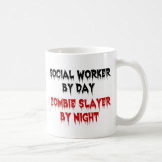Assistant social par le tueur de zombi de jour par mug