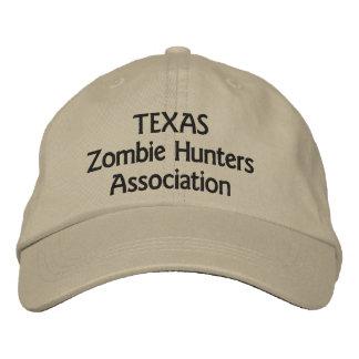Association de chasseurs de zombi du Texas Casquette Brodée