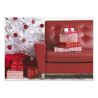 Assorted a enveloppé les présents et l'arbre de carton d'invitation  12,7 cm x 17,78 cm