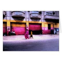 Assortiment des bâtiments, Dakar, Sénégal