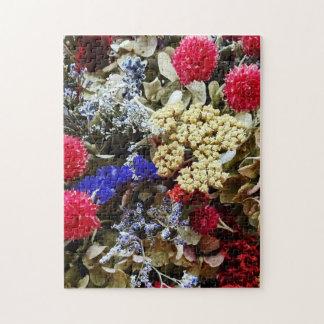 Assortiment des fleurs sèches puzzle